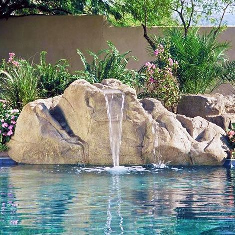 The Aspen Waterfall Can Be Added To Swimming Pool Kits Sold By Pool  Warehouse. Why Not Add A Waterfall To Your Swimming Pool Kit Today!