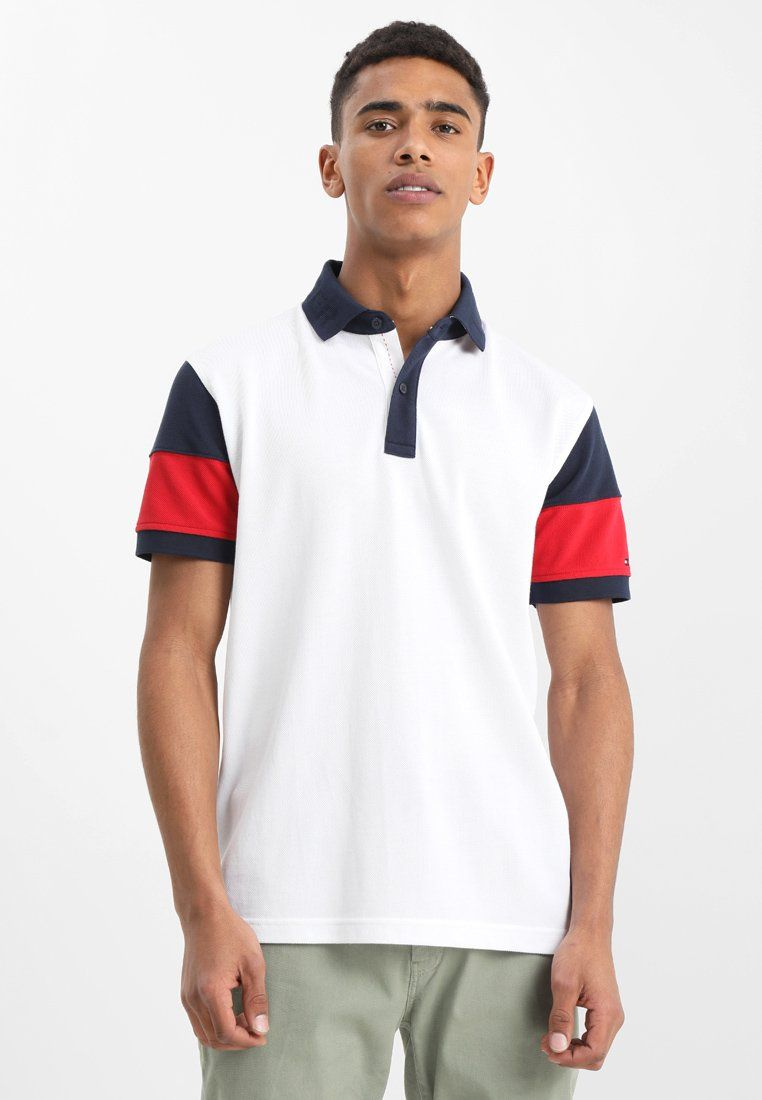 Tommy Hilfiger ESSENTIAL COLORBLOCK - Polo shirt - white for £74.99  (26 02 18) with free delivery at Zalando 4d05debed1