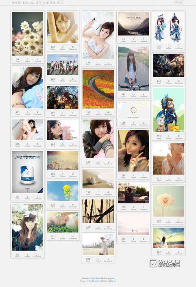 5 temas de Wordpress al estilo Pinterest | Momento Geek | Diseño ...