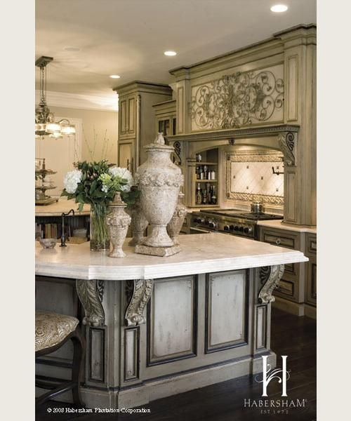 Country Style Kitchens 2013 Decorating Ideas: Habersham Grand European Casual Kitchen