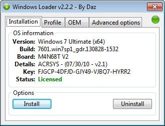 Windows 7 Activator For You