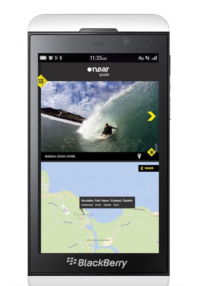 BLACKBERRY Z10 SURF APP - SPAINCREATIVE