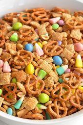 Photo of Diese Frühlings-Snack-Chex-Mischung ist die PERFEKTE Kombination aus süß und …