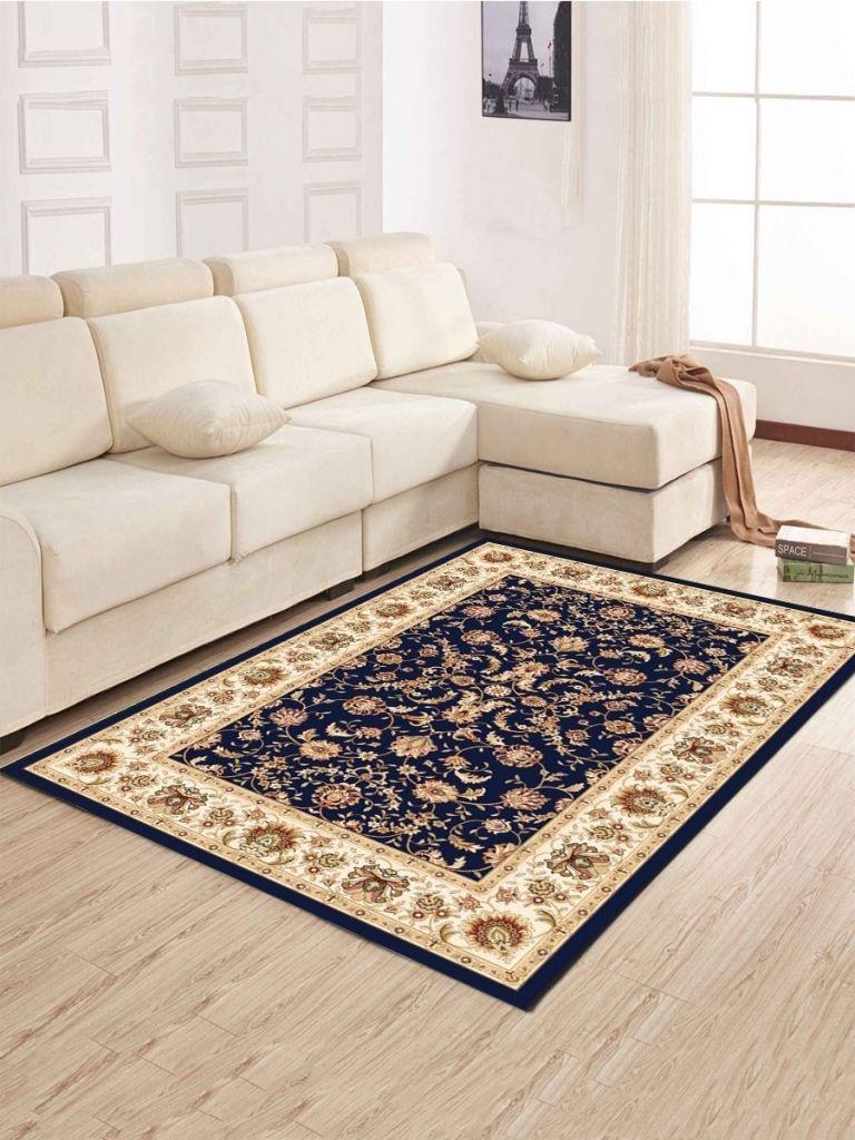 Buy Living Room Floor Mat Brief Style Flowers Pattern Anti Slip Mat With Regard To Living Room Floor Mats