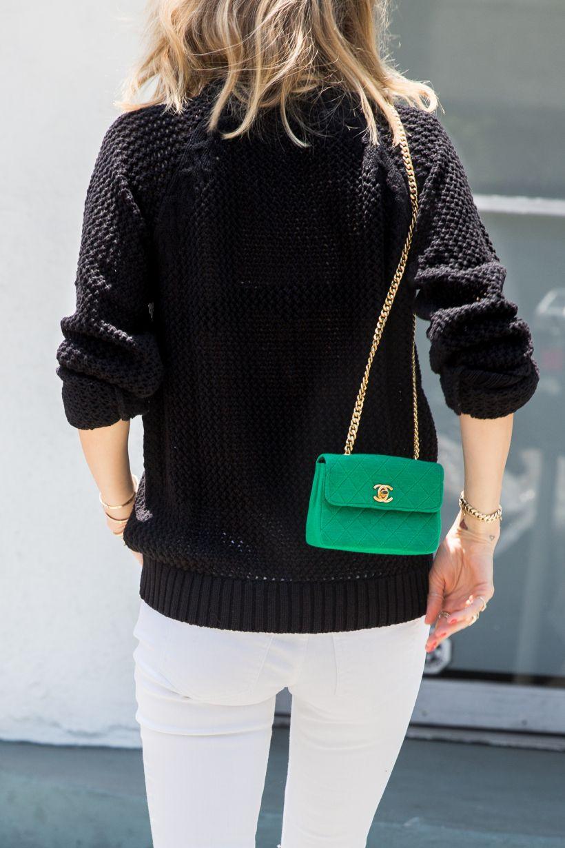 Anine S World Chanel Green Bag Chanel Mini Bag Chanel Handbags