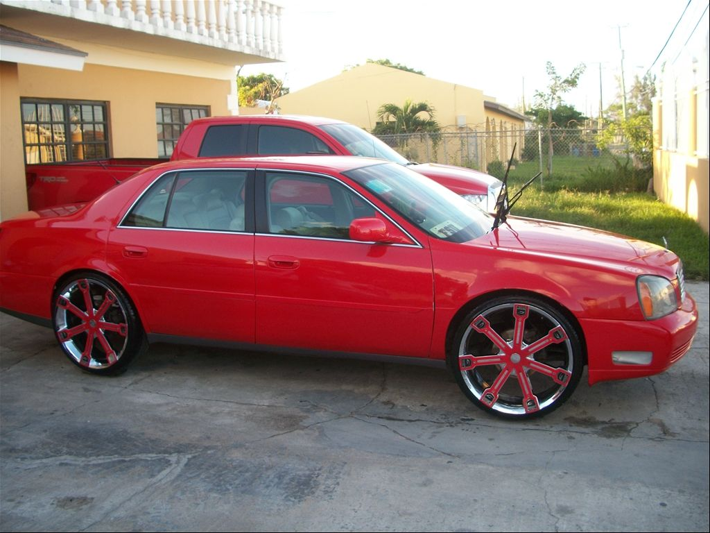 Cadillac Deville On 24 Inch Rims 2003 Cadillac Deville On 24s On