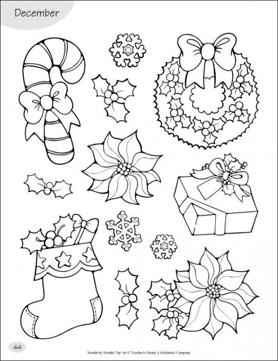 Use these holiday-themed pieces of clip art to enhance