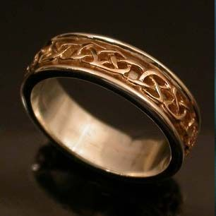 gorgeous celtic wedding ring made in scotland see wwwweddingsonlinein for wedding - Scottish Wedding Rings