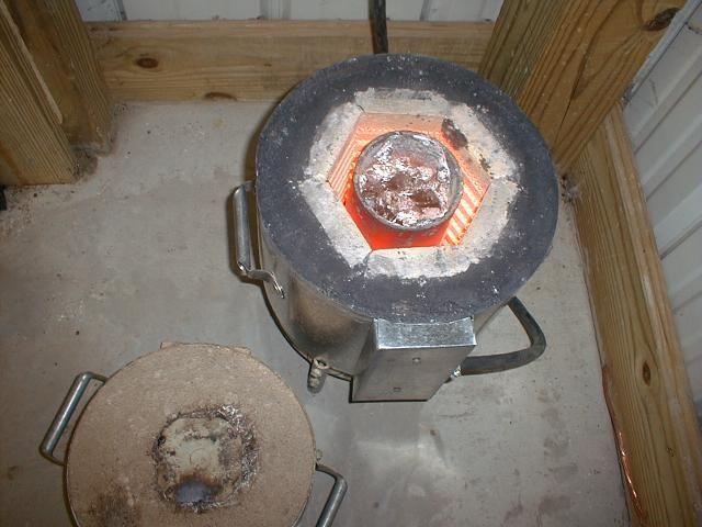 Homemade Aluminum Melting Furnace Diy Aluminium Can