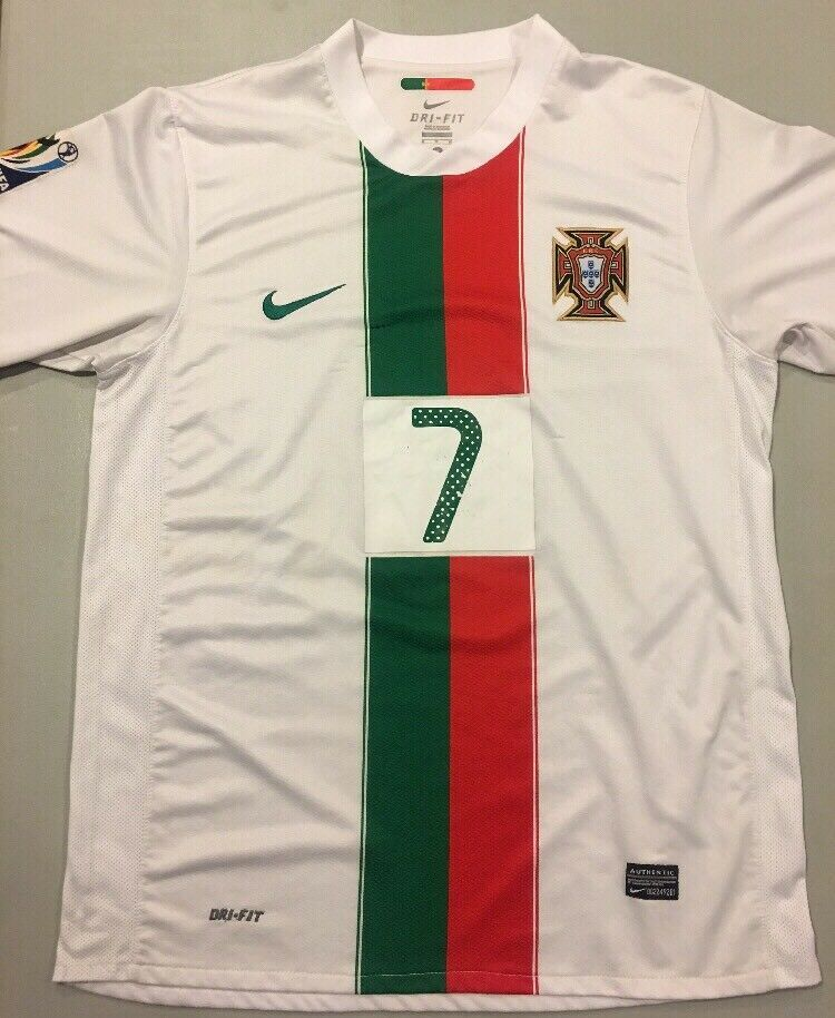 best service b533d 85a8e Nike Mens Cristiano Ronaldo Size XL Portugal 2010 World Cup ...