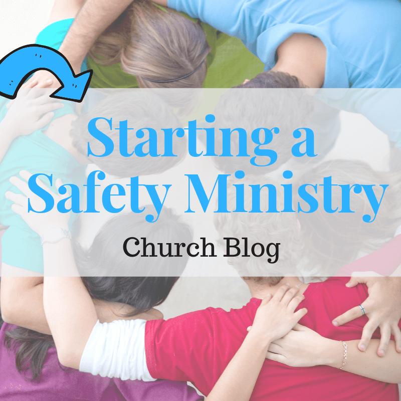 Starting a Safety Ministry Sunday school teacher