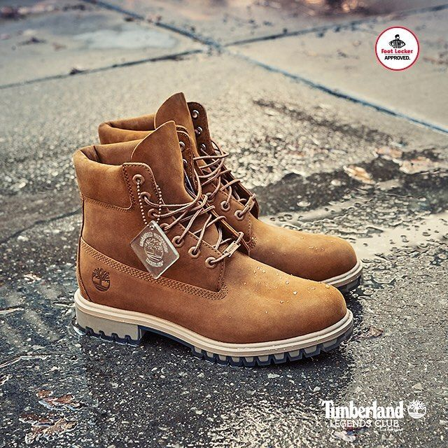 timberland rouge foot locker