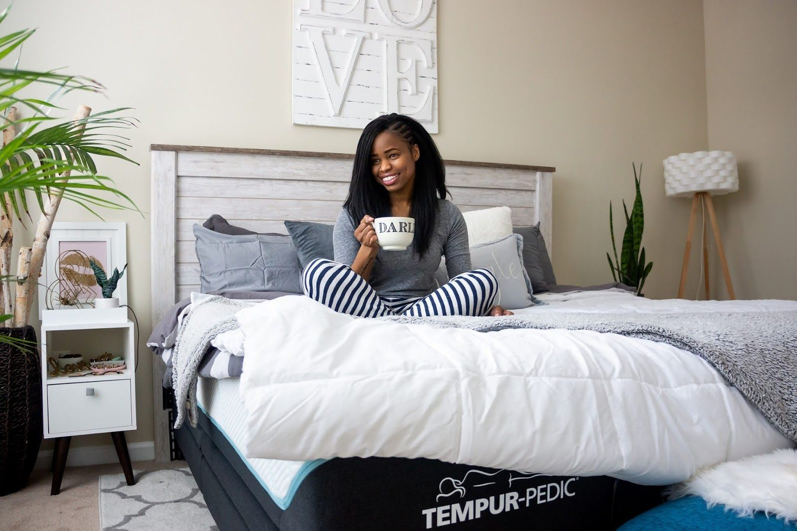 Getting Cozy with TempurPedic (With images) Under bed