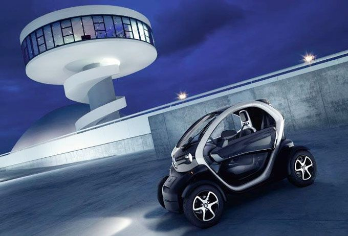 Renault Twizy Electric Concept Car