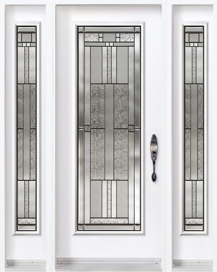 front doors with sidelites and 3/4 glass - Google Search | dream ...
