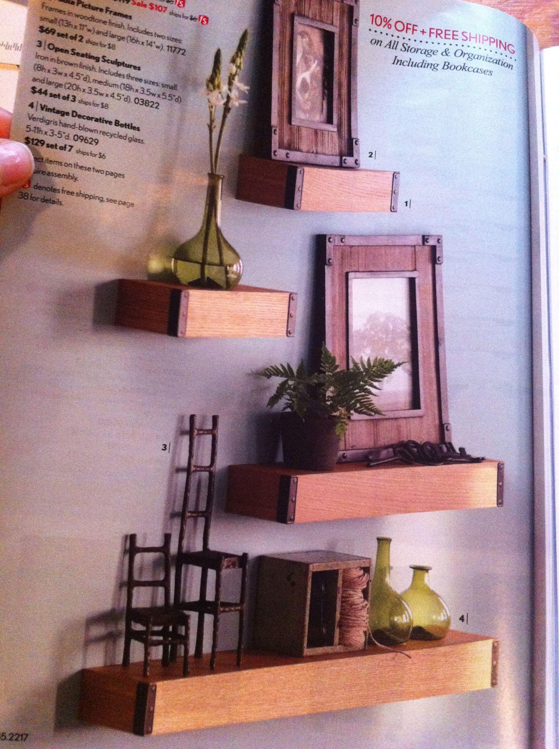 love these shelves diy opp httpwwwhomedecorators love