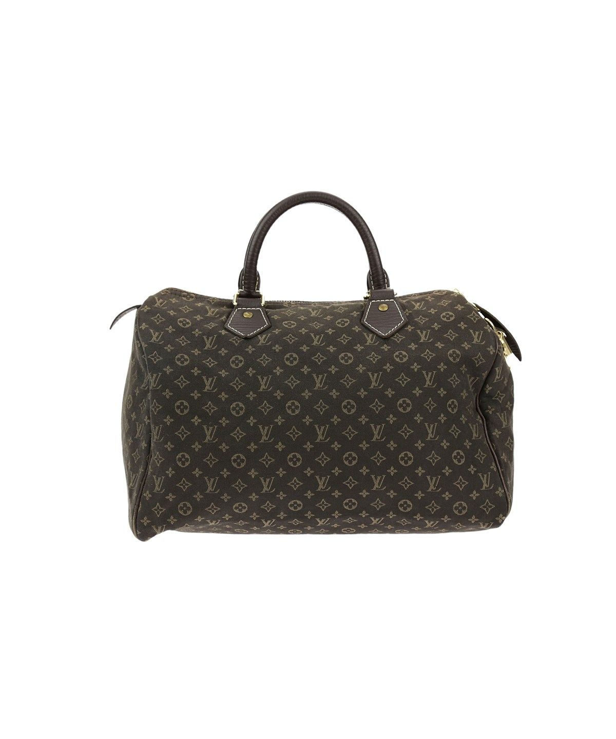 ecf94f308d4 LOUIS VUITTON Monogram Mini Lin Ebene Speedy 30 .  louisvuitton  bags   leather  travel bags  weekend  canvas