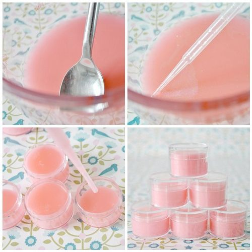 Isn't this a neat idea? Homemade Strawberry Lip Balm! Cinnamon is the active ingredient in many expensive lip plumpers — add a few sprinkles of cinnamon to your gloss or use cinnamon oil on your lips, which you can get at natural-food stores. It's a lot cheaper and does the same thing.