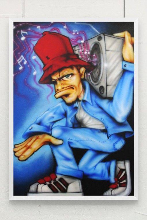 Pin By Tapdancechef On Poster Graffiti Cartoons Graffiti Characters Hip Hop Art