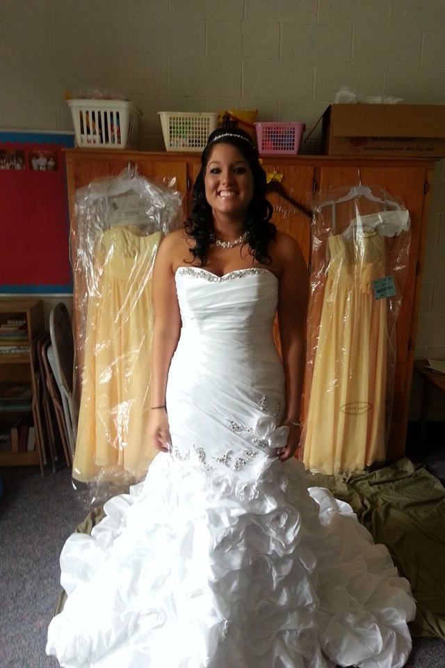 My Wedding Dress From Elite Bridal In Champaign Illinois