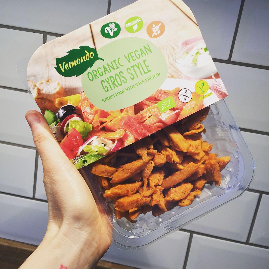 Vegan Gyros From Lidl Uk Vegan Vegetables Food