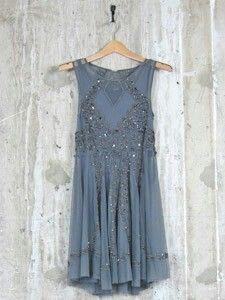 Sparkle blue dress