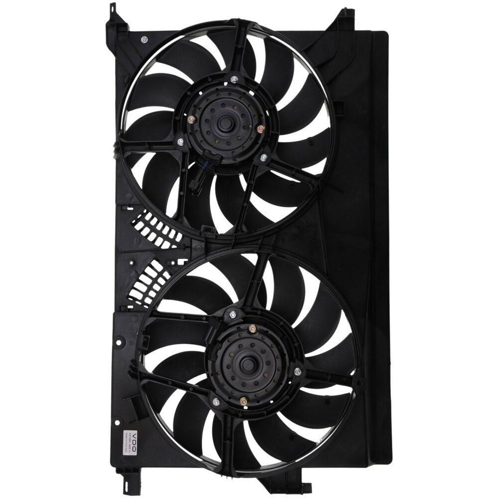 eBay Sponsored Dual Radiator and Condenser Fan Assembly