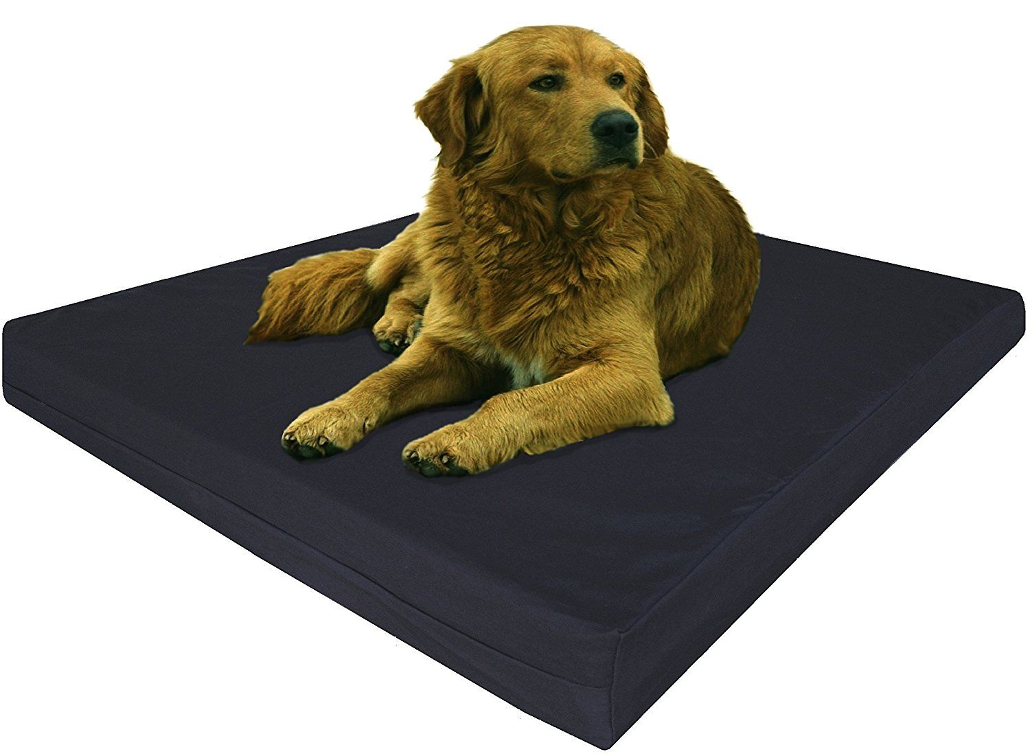 Dogbed4less Orthopedic Gel Infused Memory Foam Dog Bed for