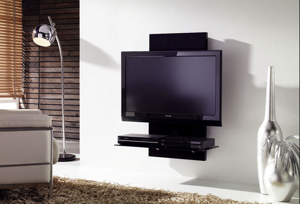Colgar tv en pared y ocultar cables buscar con google for Muebles para colocar televisor