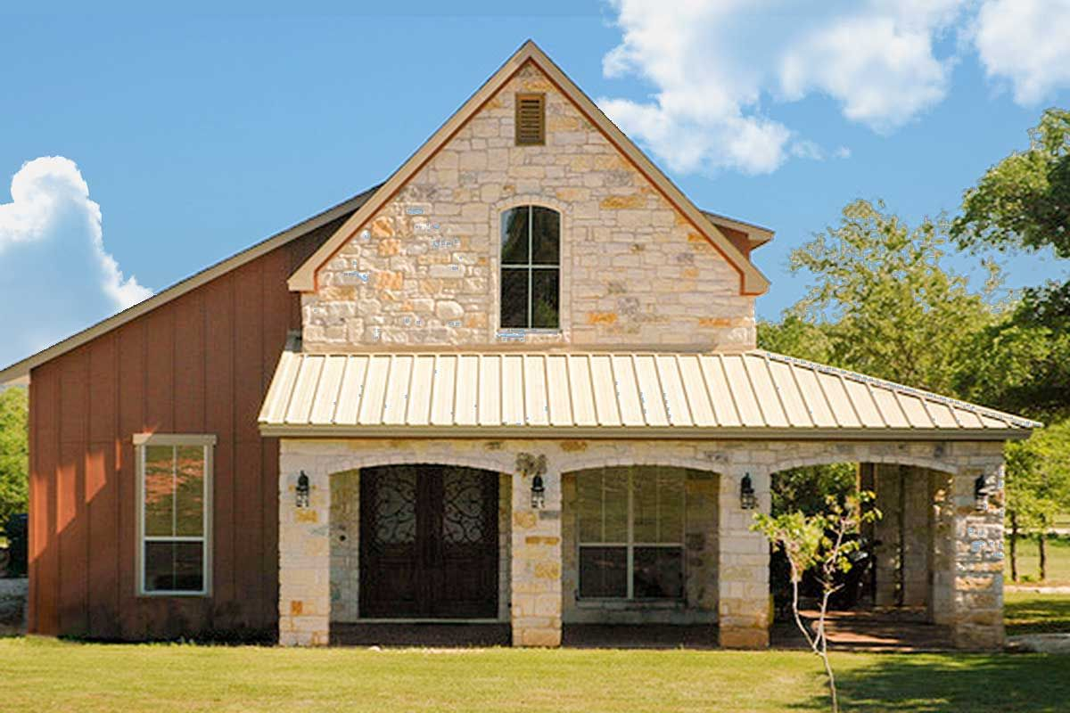 Casual Hill Country Cottage