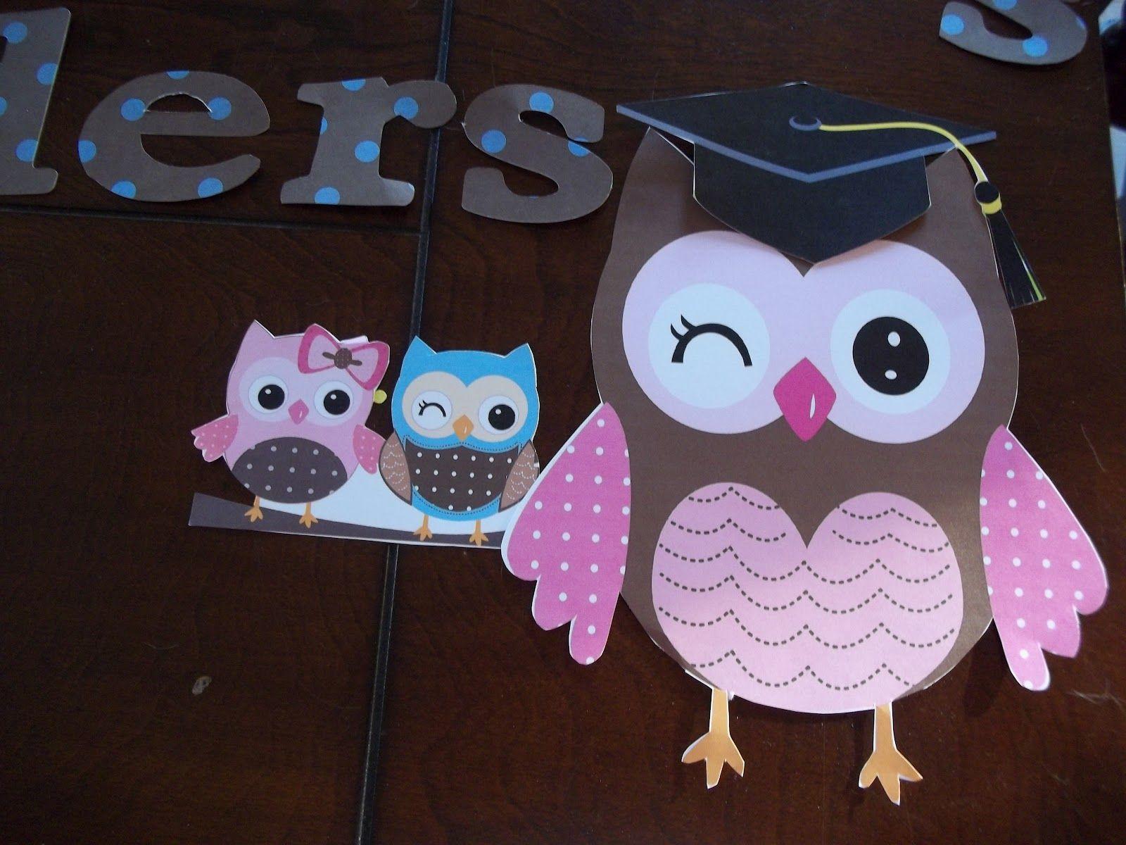 Owl Classroom Printables
