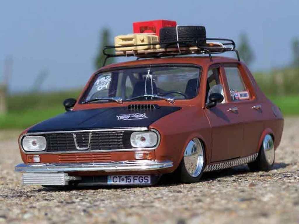 Renault 12 Gordini old school Solido diecast model car 1/18 - Buy ...
