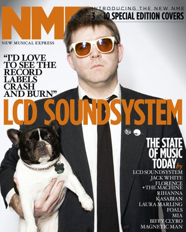Love His Dog With Images James Murphy Music Magazines Cute