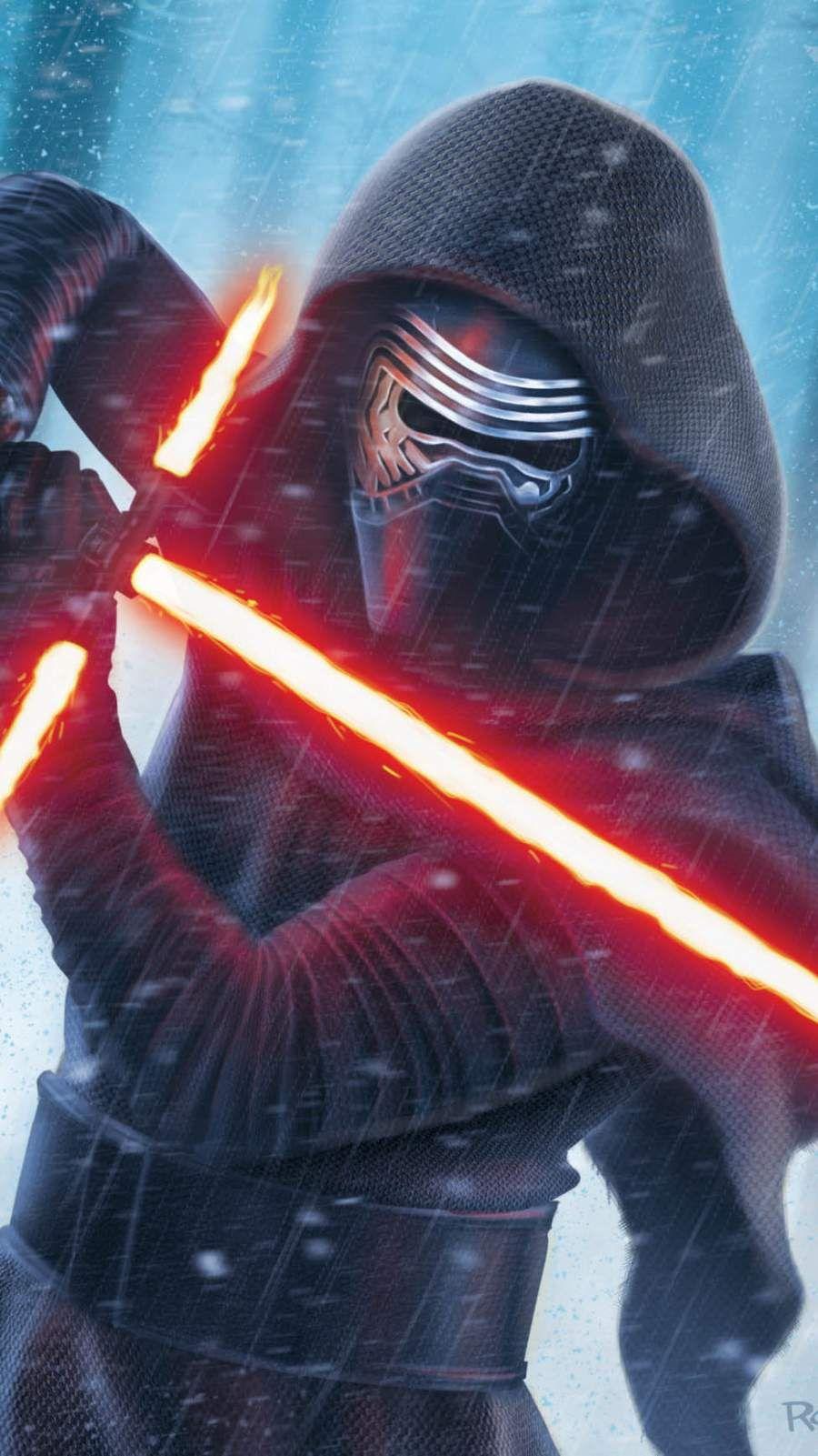 Star Wars Kylo Ren iPhone Wallpaper Star wars wallpaper
