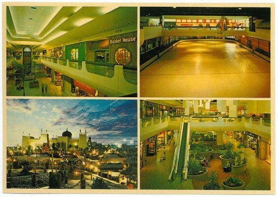 I Miss These Days In It S Hey Day Metro Center Mall Phoenix Az My Mom Cleaned The Airplane Bar Over The Ice Ri Metro Center Vintage Mall Metro Center Mall