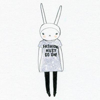 Fifi Lapin February 2012 Fifi Lapin Bunny Fashion Cool Artwork