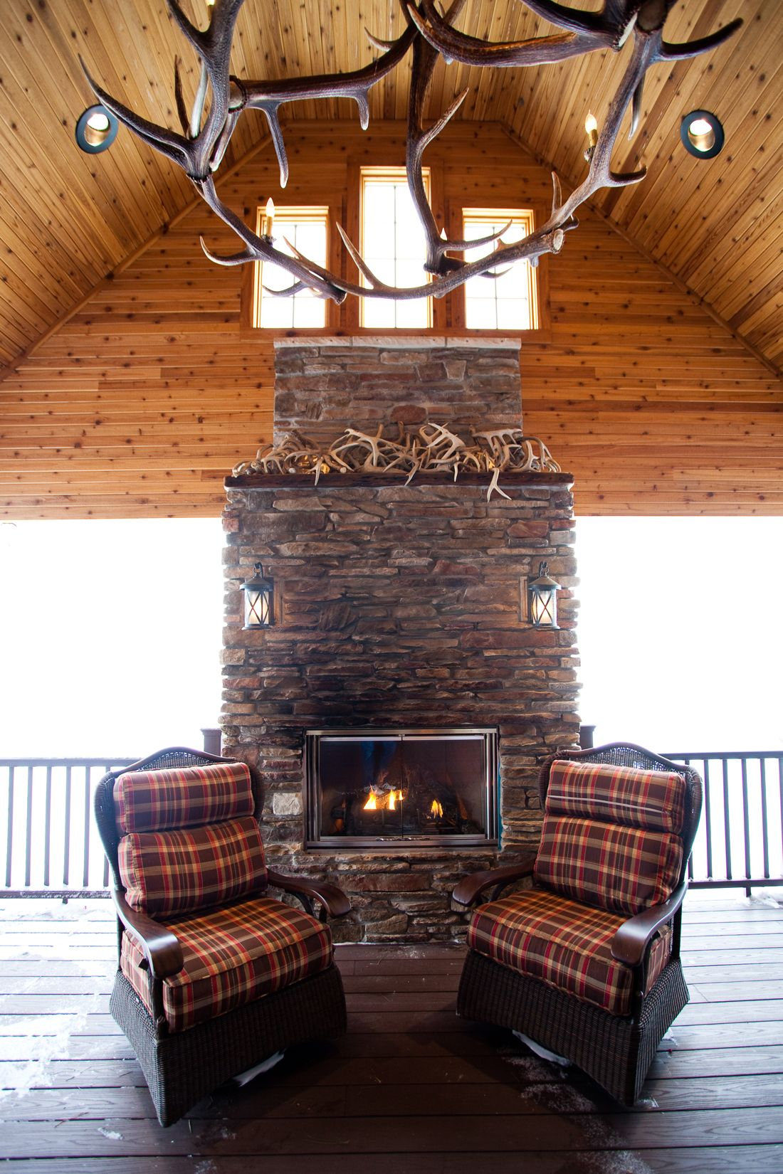 Indoor Outdoor Space Designed And Decorated By Roughing It