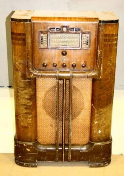 Vintage Rca Victor Sherman Magic Brain Radio Vintage