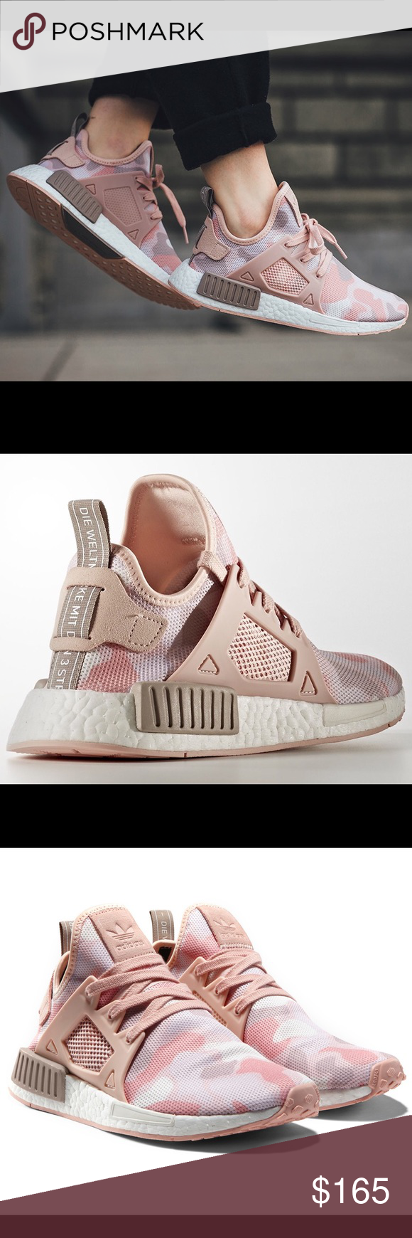 47977eaaee9de pink adidas superstar women adidas nmd xr1 white duck camo Equipped ...