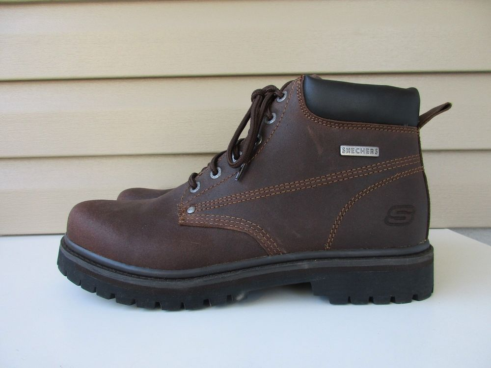 Skechers Mens Ankle Boots size 13 style 6606 NEW #Skechers