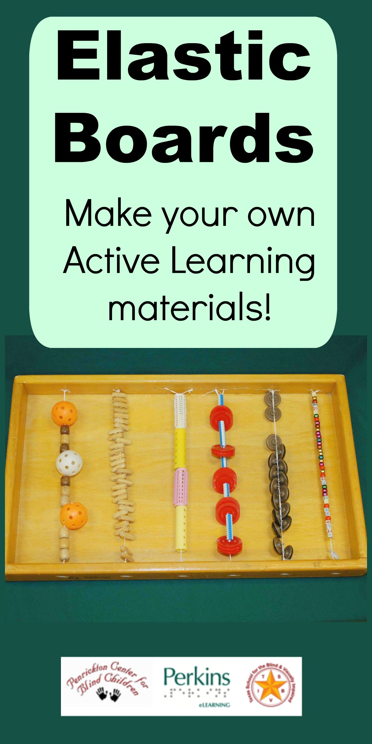 Make your own Elastic Boards for Active Learning! | Active Learning ...