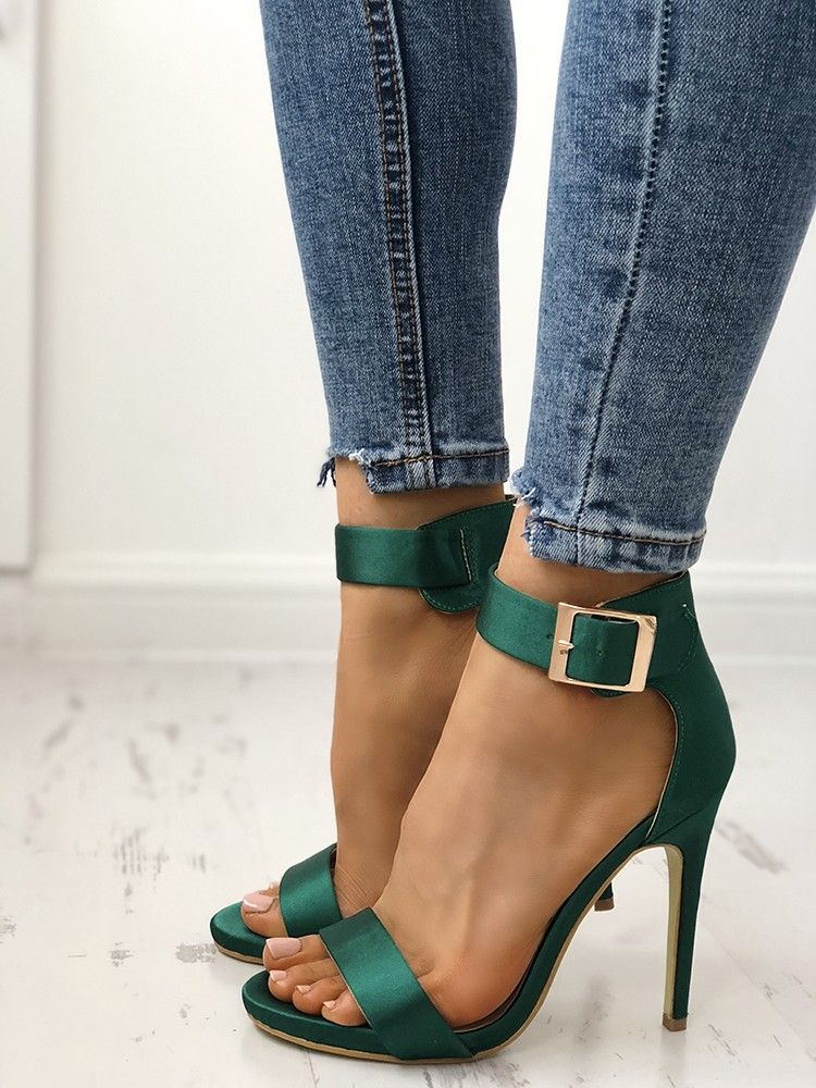 90c20be91 Fashion Open Toe Cocktail Party Thin Heel Pump#shoes #shoeshighheels  #fashion #style #beautiful #trends #tops #womensfashion #90s