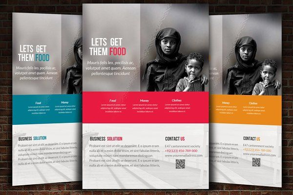Charity Flyer Template Flyers 1 Creative Flyer Template