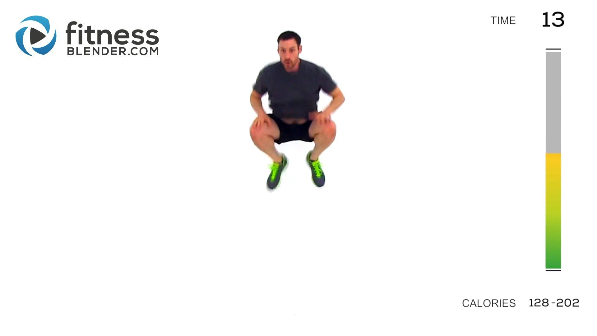 Advanced HIIT Workout - Total Body High Intensity Interval Training - HIIT Me Again