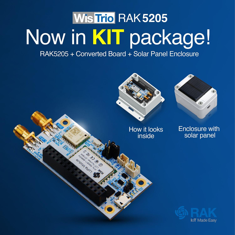 Pin by RAK Wireless on WisTrio RAK5205