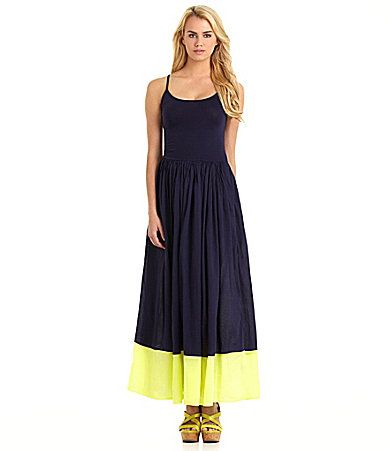 French connection marionette maxi dress