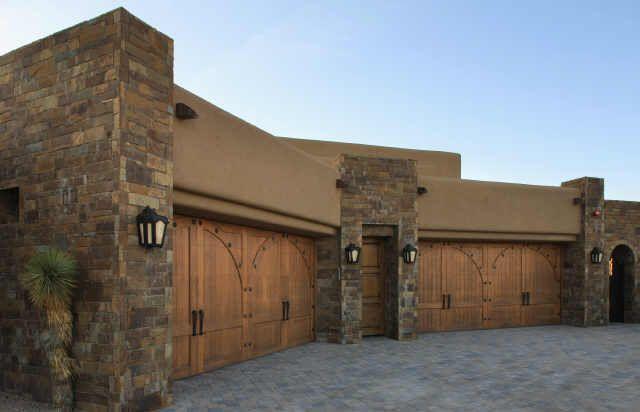 Fancy Garage Doors Design Through The Decades Phoenix Arizona 1990s 2000s Parking Garage Exterior Garage Door Colors Garage Door Design