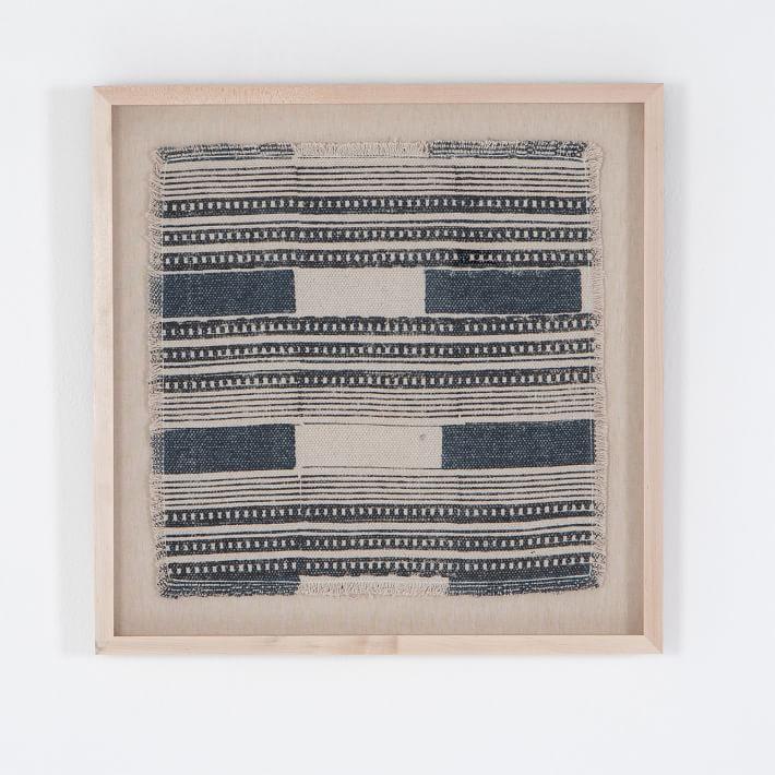 Annalyn Framed Textile Art Textile Wall Art Textile Art Tapestry Wall Art