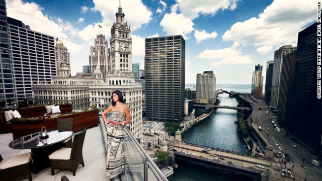 You Get A Robe Menu At The Trump International Hotel Tower Chicago The Donald Approves
