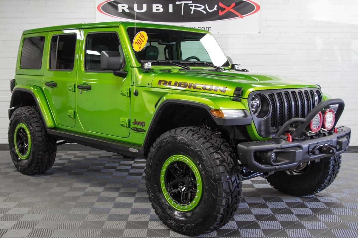 2019 Jeep Wrangler Rubicon Unlimited Jl Mojito Green Green Jeep